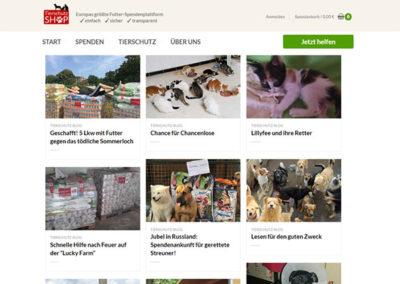 Blog με νέα του Tierschutzshop